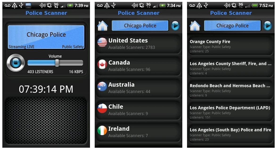 best free police scanner app for android 2017