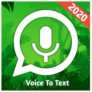 Speech To Text For WhatsApp logo