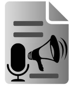 Voice to Text Text to Voice logo