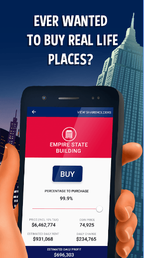 Donut Trumpet Tycoon Real estate Investing Game