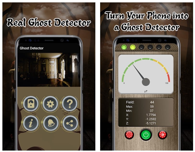 Ghost EMF Detector – Paranormal Activity Meter Pro