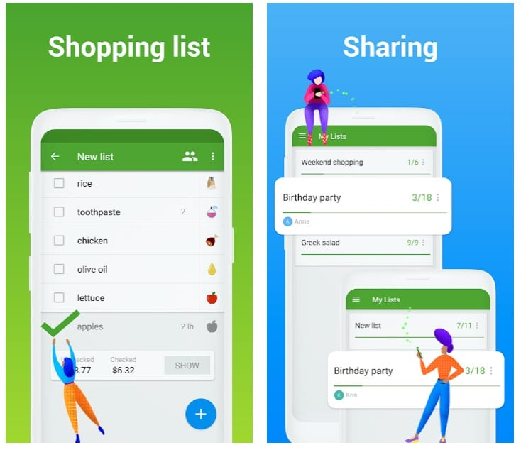 Grocery Shopping List - Listonic