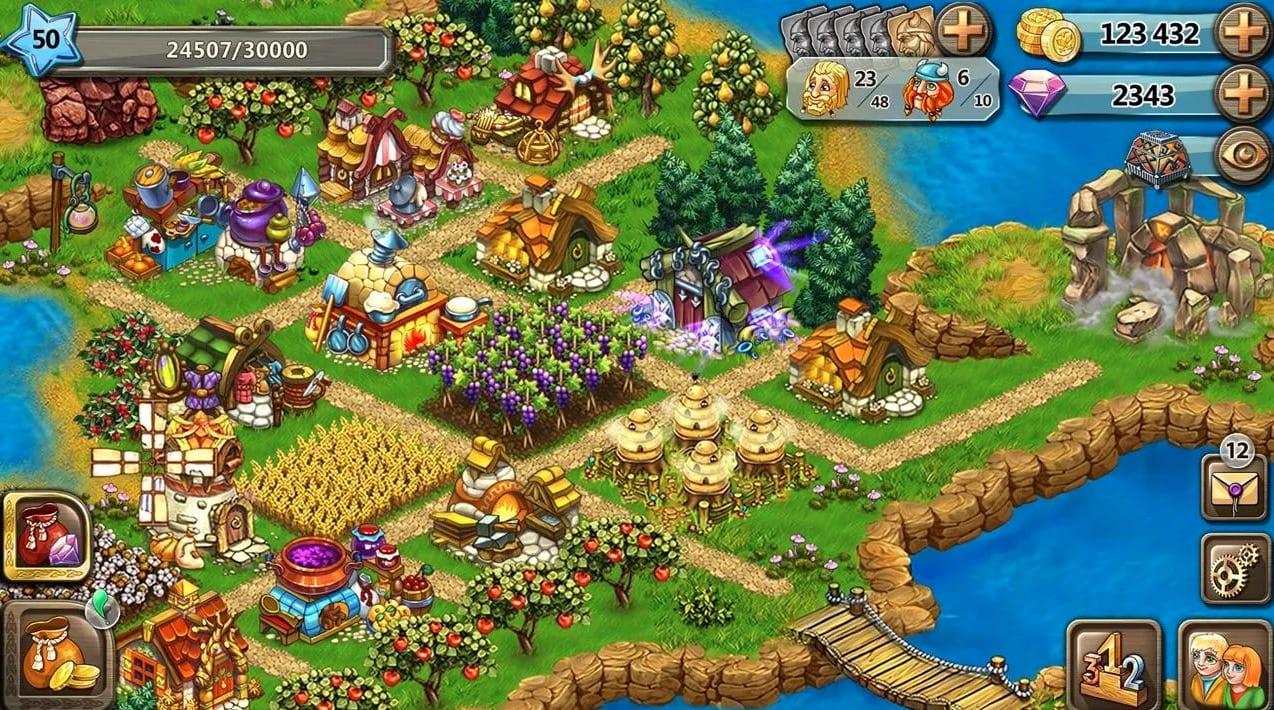 Harvest Land app