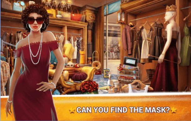Hidden Objects Fashion Store