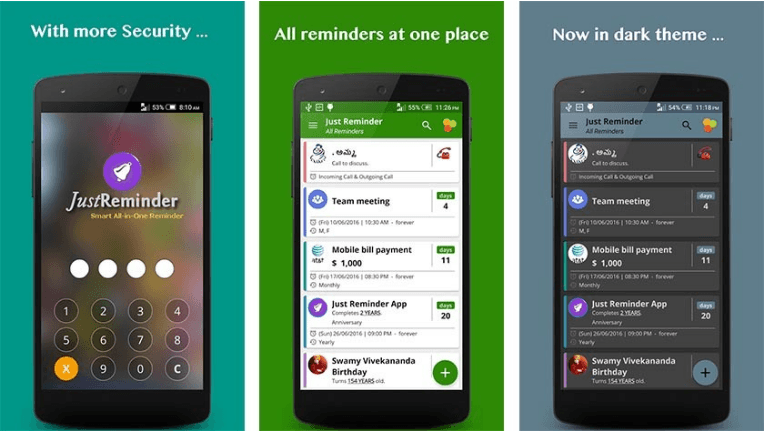Free Birthday Reminder App ~ Best reminder apps for android android apps for me download