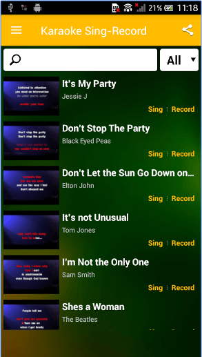 15 Best karaoke apps for Android | Android apps for me