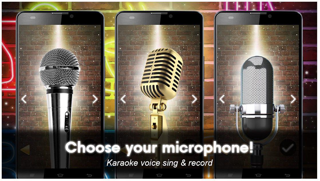 Karaoke voice sing & record