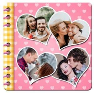 Love Photo Scrapbook Collage