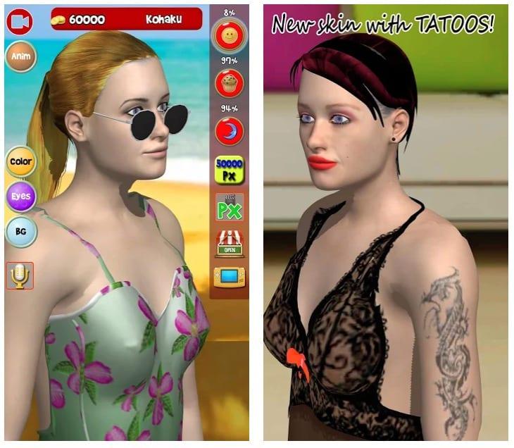 My Virtual Girl, pocket girlfriend in 3D