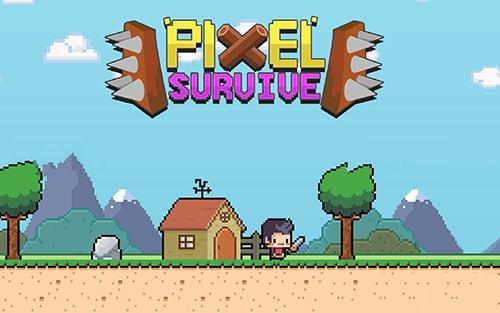 pixel survival world apk download