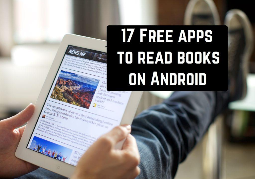 17 Free apps to read books on Android | Android apps for me