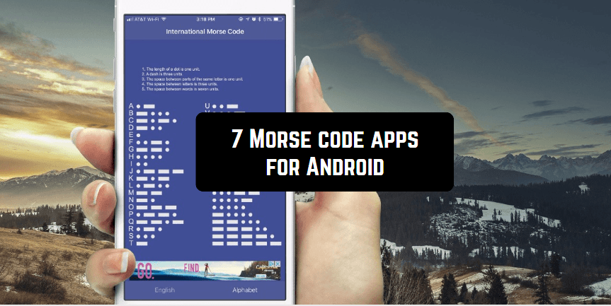 7 Morse code apps for Android