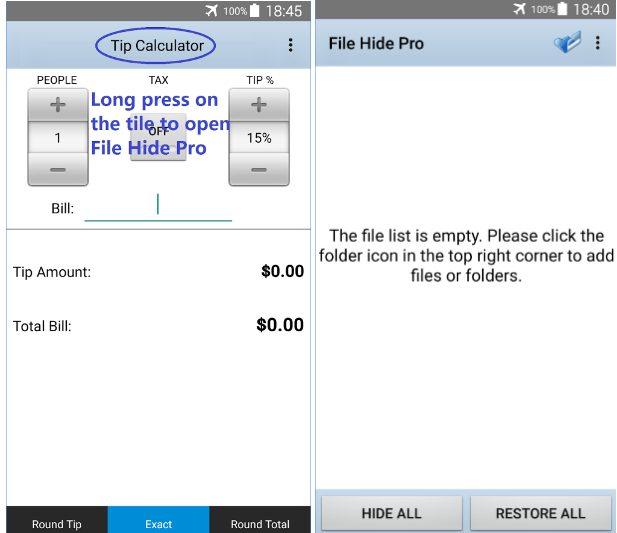 File Hide Pro app