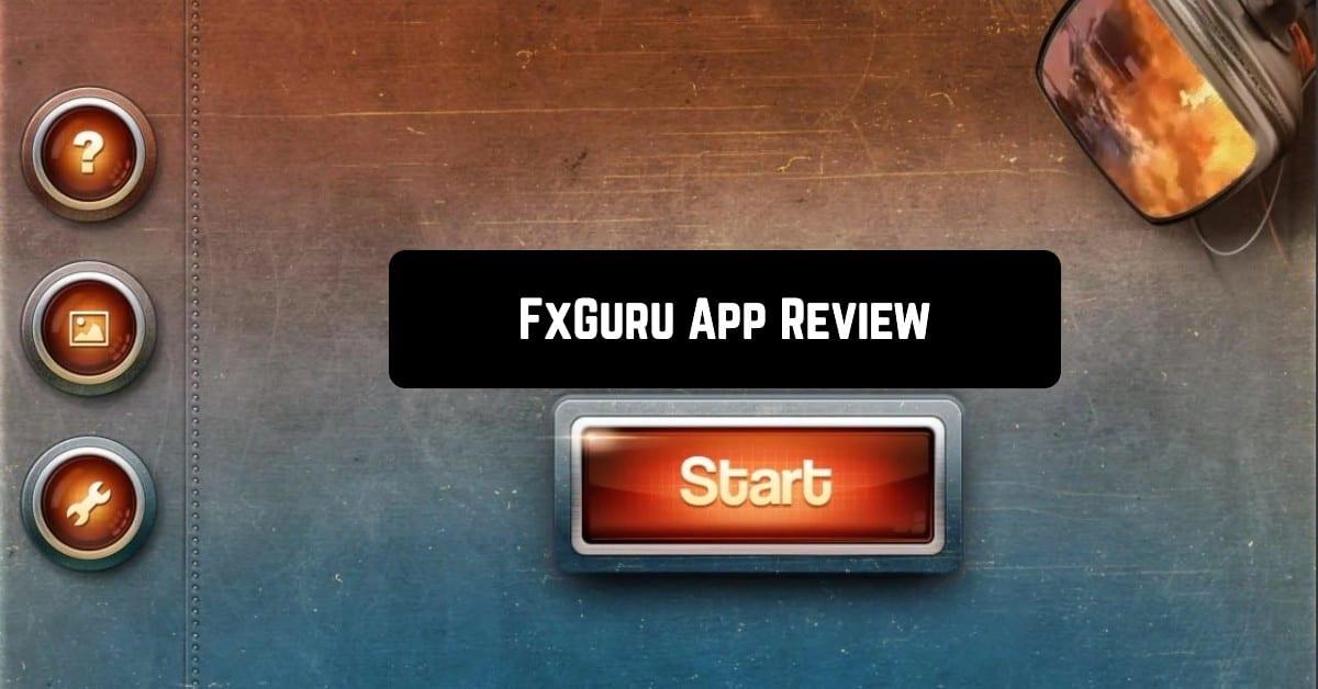 FxGuru App Review