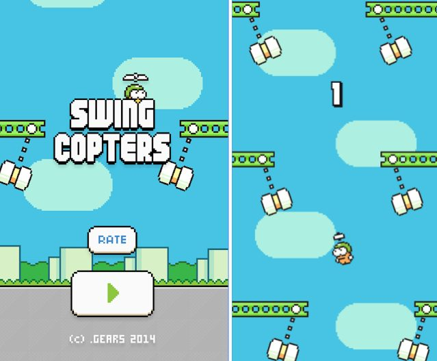 Swing Copters app