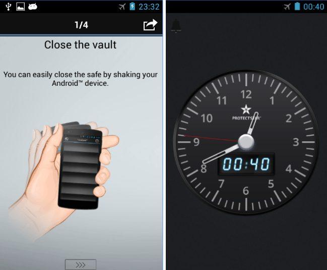 TimeLock app