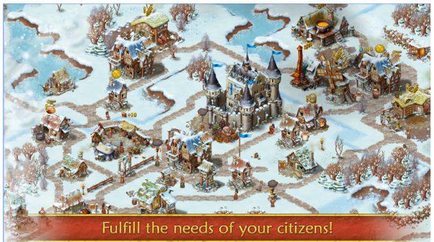 Townsmen app