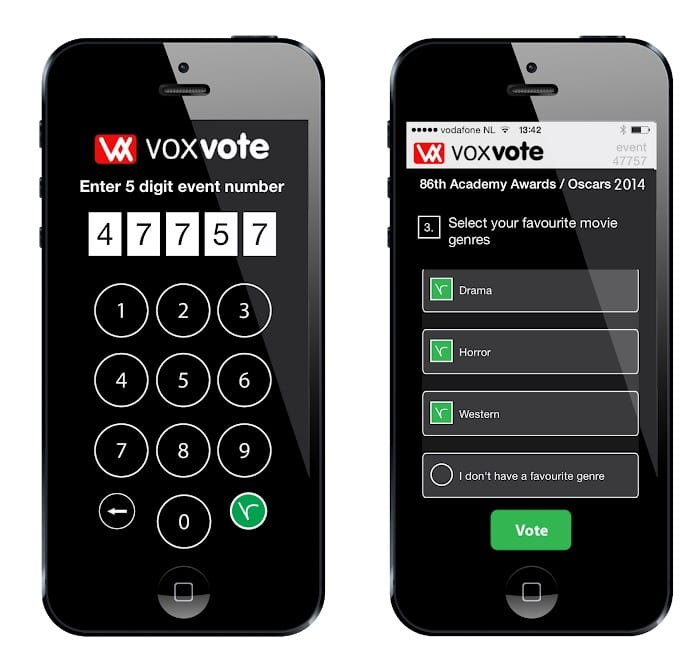 VoxVote Live Voting App
