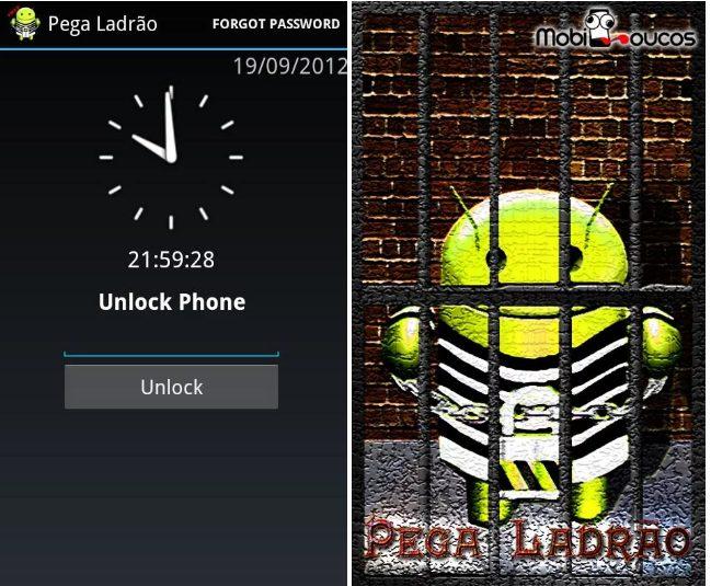 Alarm Anti Theft Screen Lock app