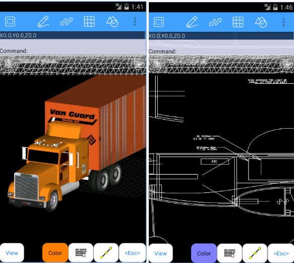 AutoQ3D CAD app