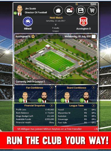 Club Soccer Director app