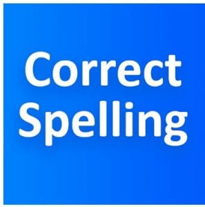 Correct Spelling (Voice-based Spelling checker) logo