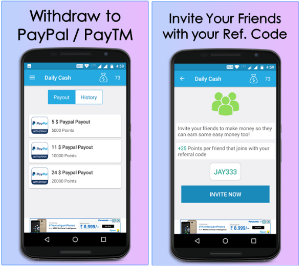 Daily Cash Earn Money App