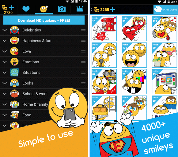 11 Apps to get free emojis for Android | Android apps for me