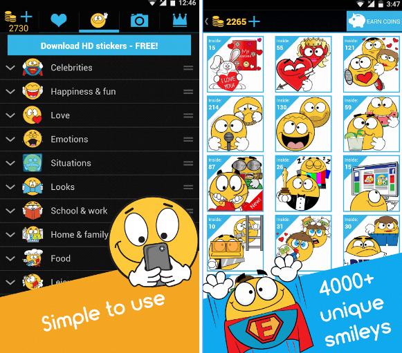 Emojidom emoticons app