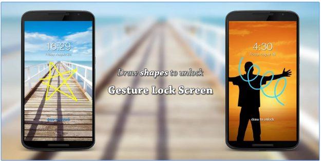 Gesture Lock Screen app