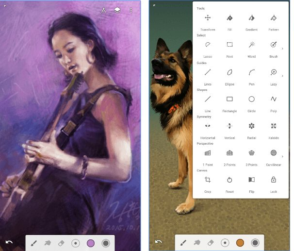 Infinite Painter app