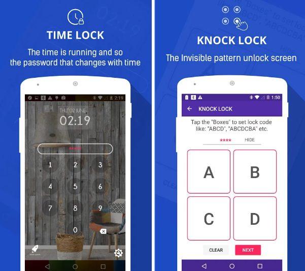 Knock Lock app