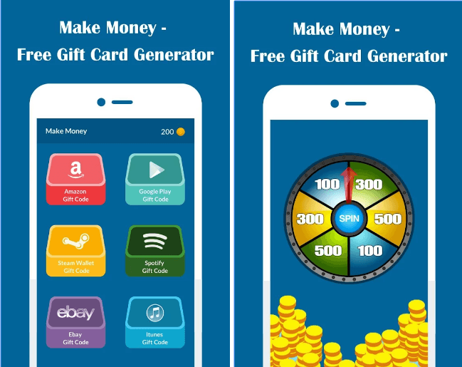 Make Money Free Gift Card Generator