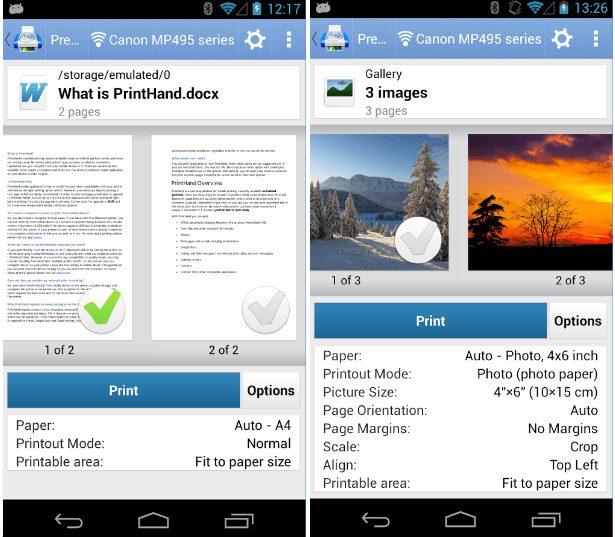 PrintHand app