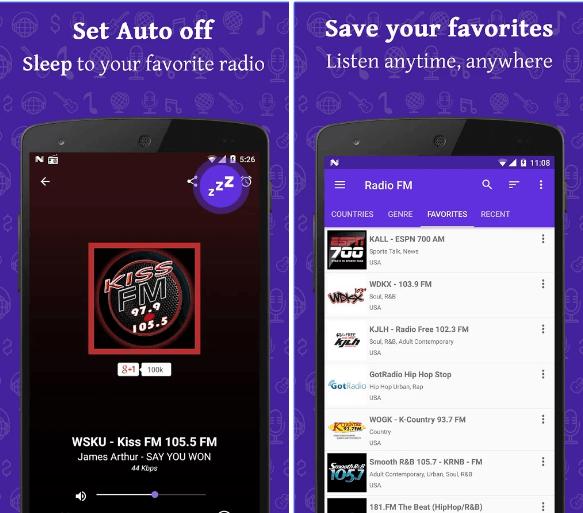 Radio FM app