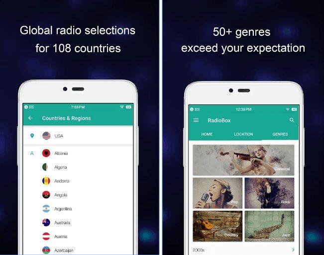 RadioBox app