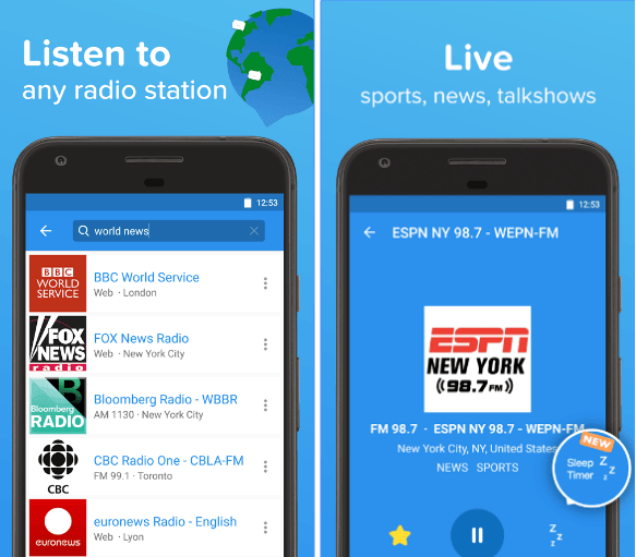 21 Best radio apps for Android | Android apps for me