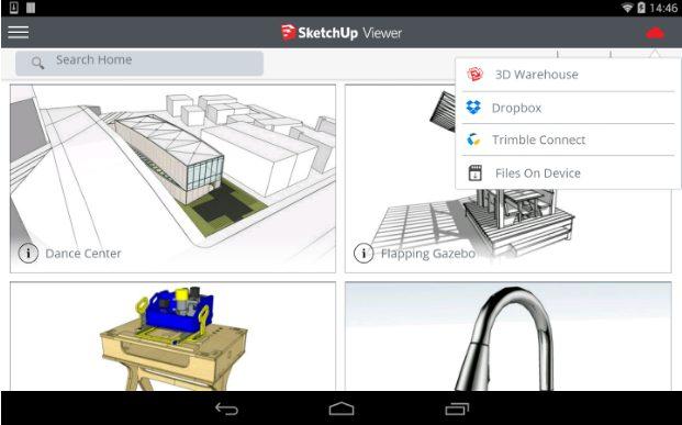 SketchUp Viewer app