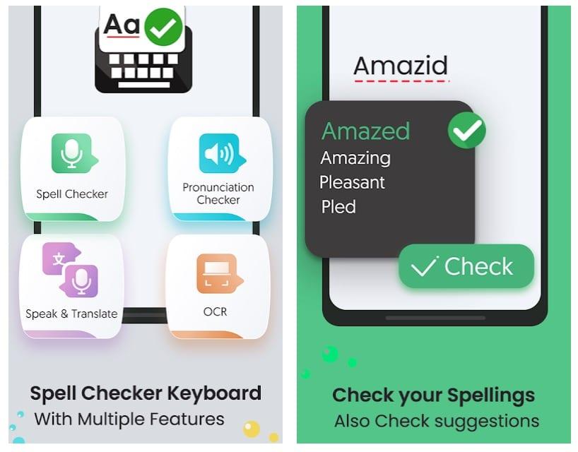 Spell Checker & Correct Spelling