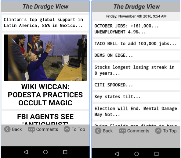 7 Best Drudge report apps for Android | Android apps for me