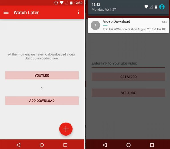 Watch Later app
