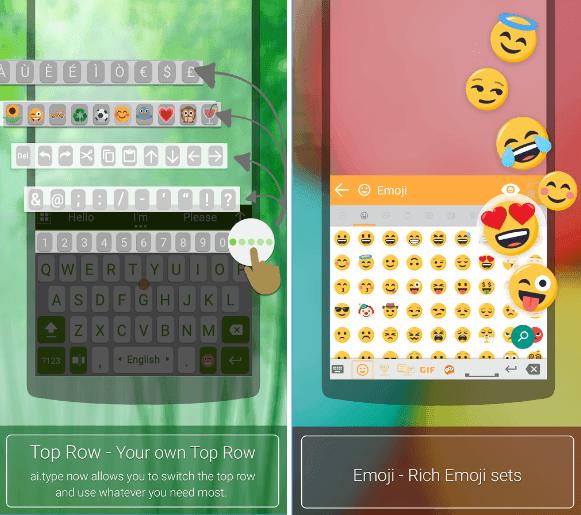 ai.type Free Emoji Keyboard app