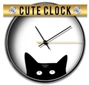 Cat Clock Widget