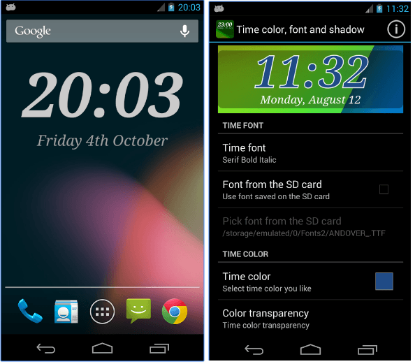26 Free Clock Widgets For Android Android Apps For Me Download