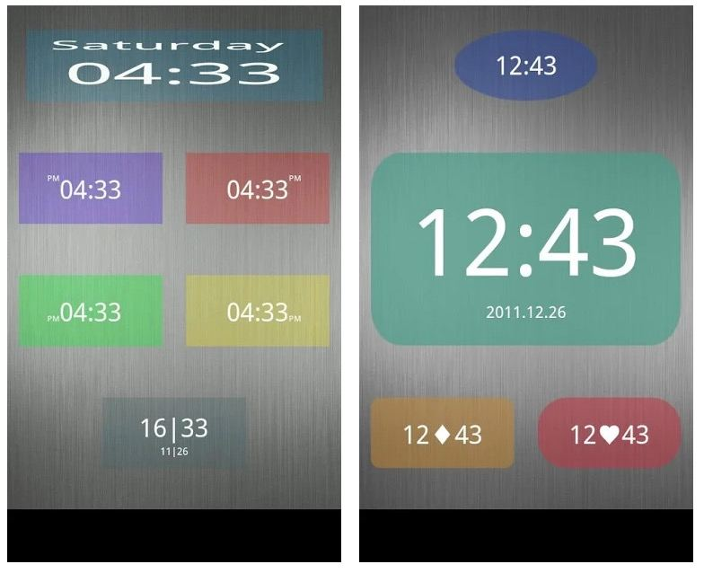Nice Simple Clock (Widget) app