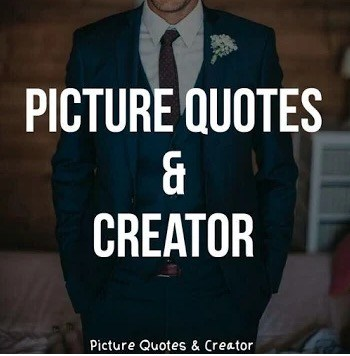 Picture Quotes and Creator logo