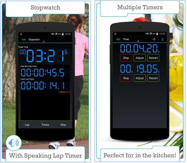 Stopwatch & Timer app
