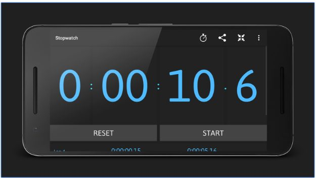 Stopwatch and Timer app