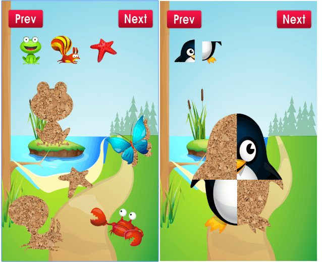 Animal Puzzle Game for Toddler app