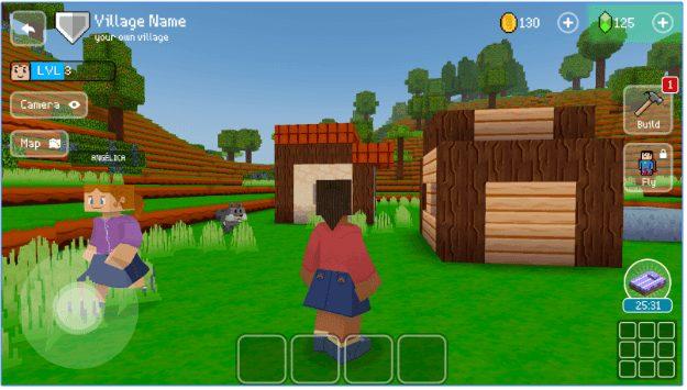 Block Craft 3D app